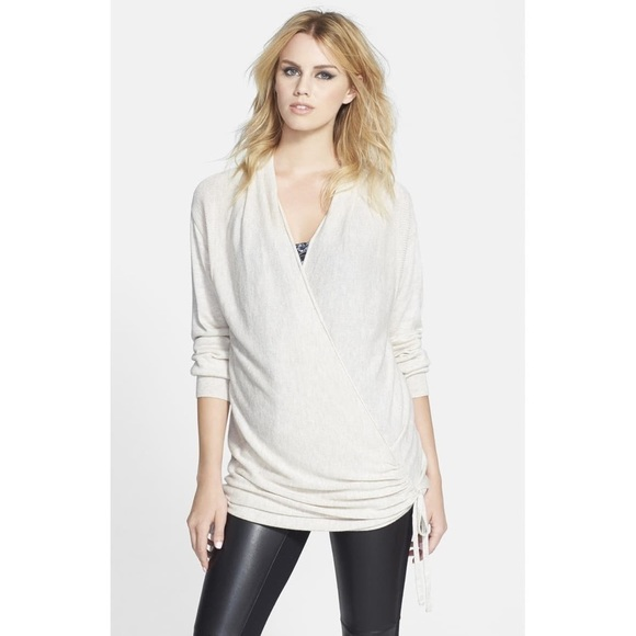 Leith Sweaters - Leith Side Tie Wrap Sweater